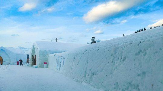Hôtel de Glace  Ice Hotel